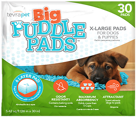 Tevra Puddle Pads Xl 30ct
