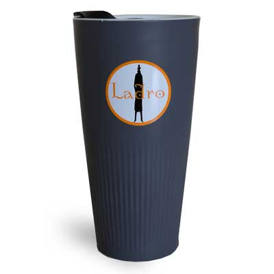 Grey Porcelain Circle Tumbler - 12oz MAIN