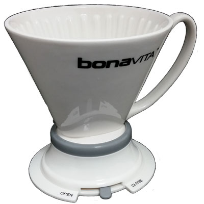 Bonavita Wide Base Porcelain Immersion Dripper MAIN