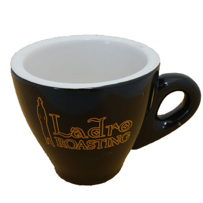 M106 Black Logo Demitasse - 3oz