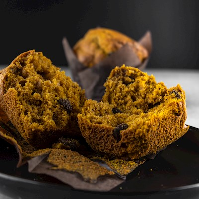 Pumpkin Chocolate Chip Muffin MAIN