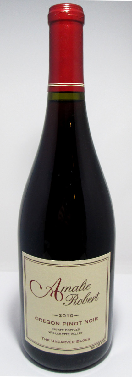 "Amalie Robert Pinot Noir Willamette Valley ""The Uncarved Block"" 2011 THUMBNAIL"