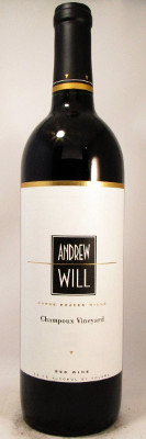 Andrew Will Red Wine Champoux Vineyard 2013 THUMBNAIL