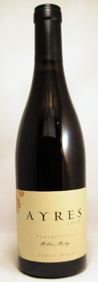 "Ayres Vineyard Pinot Noir ""Perspective"" 2011 MAIN"