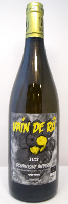 "Dominique Andrian ""Vain de Ru""  Vin de France 2018 THUMBNAIL"