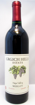 Grgich Hills Estate Merlot 2012 MAIN
