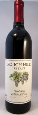 Grgich Hills Estate Zinfandel 2015 MAIN