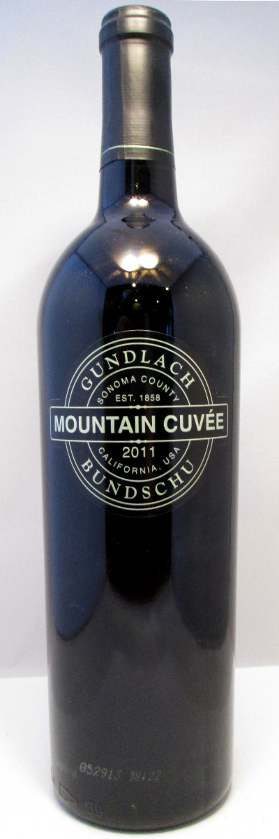 Gundlach Bundschu Mountain Cuvee 2014 MAIN