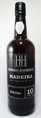Henriques & Henriques Madeira Sercial 10 years old THUMBNAIL