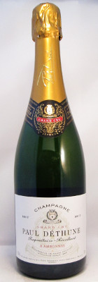 Paul Dethune Champagne Brut Grand Cru NV THUMBNAIL