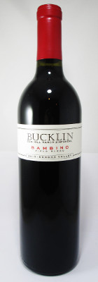 "Bucklin Old Hill Ranch Zinfandel ""Bambino"" 2016 MAIN"