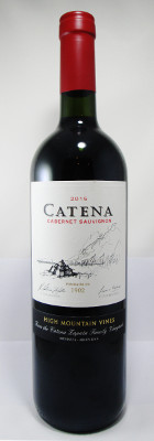 "Catena Cabernet Sauvignon ""High Mountain Vines"" 2016 THUMBNAIL"
