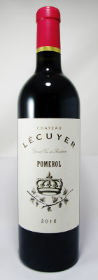 Chateau Lecuyer Pomerol 2016 MAIN