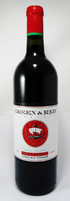 Green & Red Vineyards Zinfandel Chiles Mill Vineyard 2015 THUMBNAIL