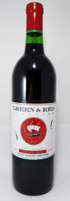 Green & Red Vineyards Zinfandel Chiles Canyon Vineyards 2017 MAIN
