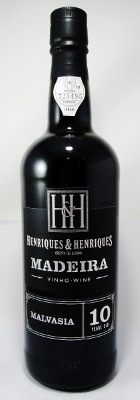 Henriques & Henriques Madeira Malvasia 10 years old THUMBNAIL