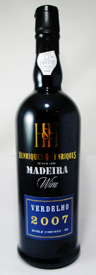 "Henriques & Henriques Verdelho Single Vineyard ""QG"" 2007 THUMBNAIL"
