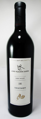 Long Meadow Ranch Cabernet Sauvignon Napa Valley 2013 THUMBNAIL