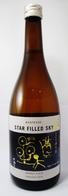 "Mantensei Junmai Ginjo ""Star Filled Sky"" Sake - 720 ml MAIN"
