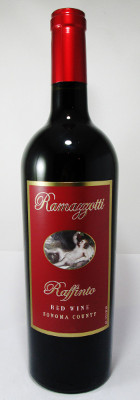 "Ramazzotti Sonoma County Red ""Raffinto"" 2012 MAIN"