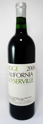Ridge Geyserville 2006 MAIN