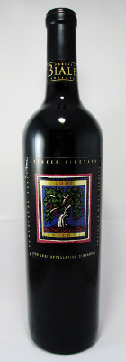Robert Biale Vineyards Spenker Vineyard Zinfandel 2000 THUMBNAIL