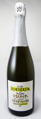 "Louis Roederer Champagne Brut Nature ""Starck"" 2009 MAIN"