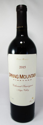 Spring Mountain Vineyard Cabernet Sauvignon 2015 THUMBNAIL