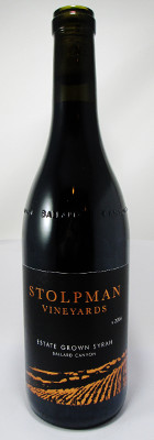 Stolpman Vineyards Estate grown Syrah Ballard Canyon 2016 THUMBNAIL