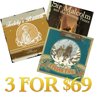 3 dramatic audios for $69!