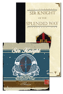 Sir Knight of the Splendid Way Package Book and CD