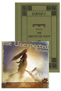 Unexpected Return Package Book and CD THUMBNAIL