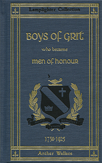 Boys of Grit Who Became Men of Honour (Vol.1)