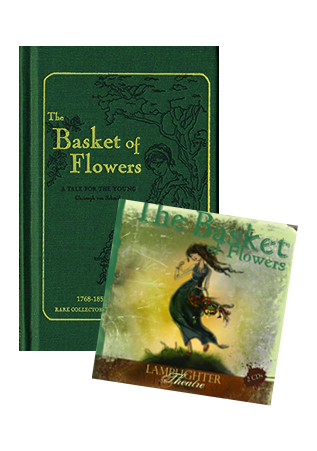 Basket of Flowers Package Book and CD