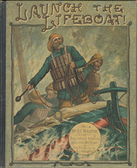 Damaged Illustrated Launch the Lifeboat LARGE