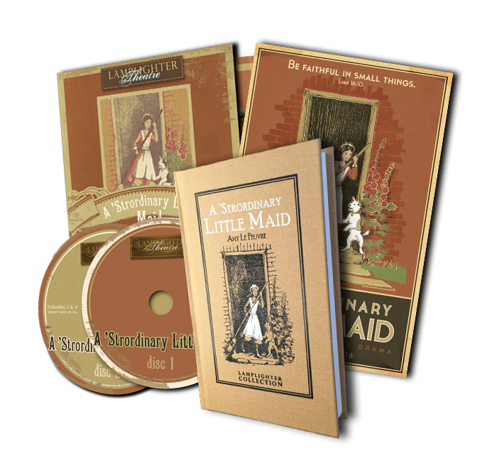 A 'Strordinary Little Maid Package Book & CD MAIN