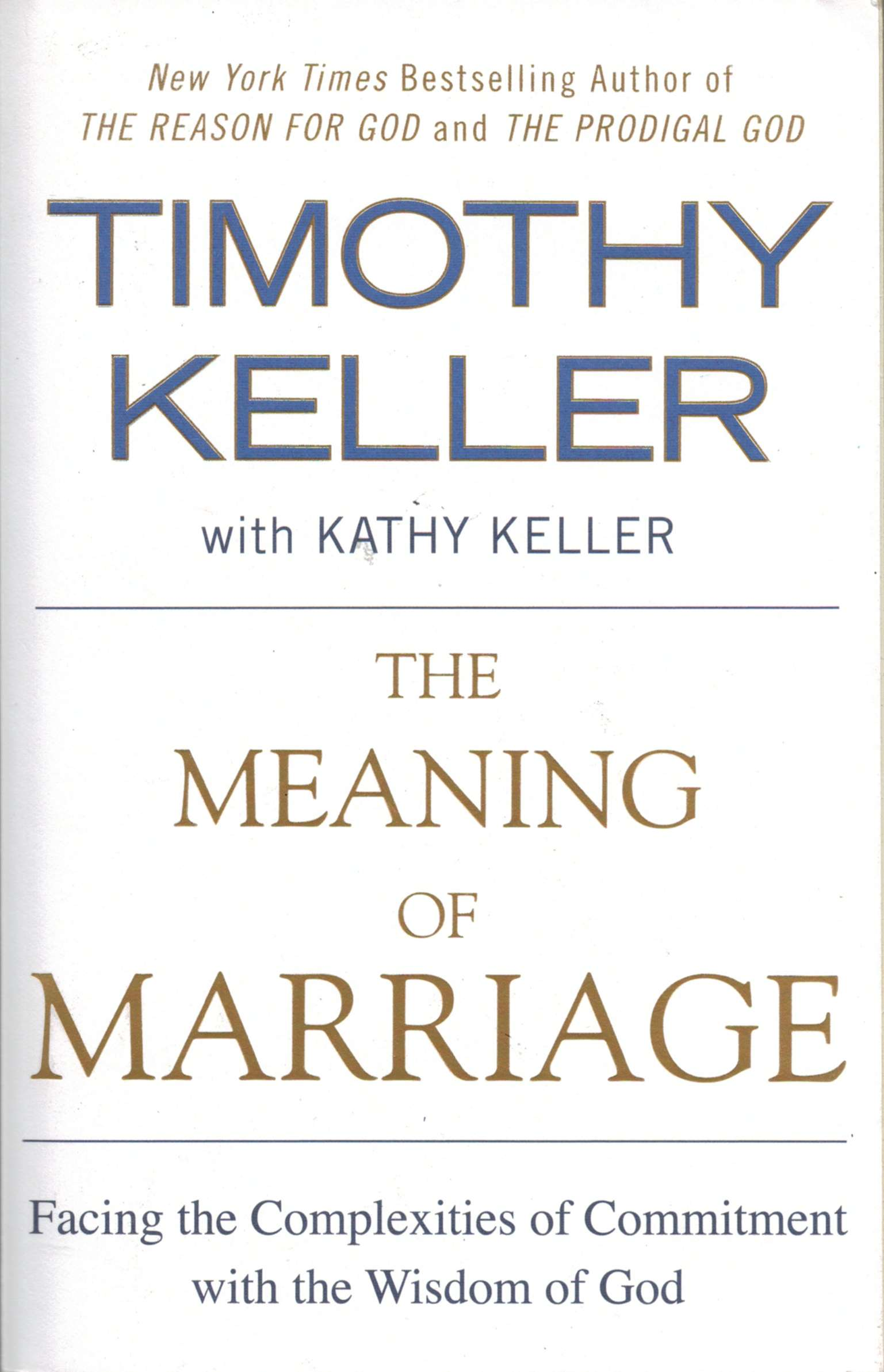 The Meaning of Marriage - Softcover THUMBNAIL