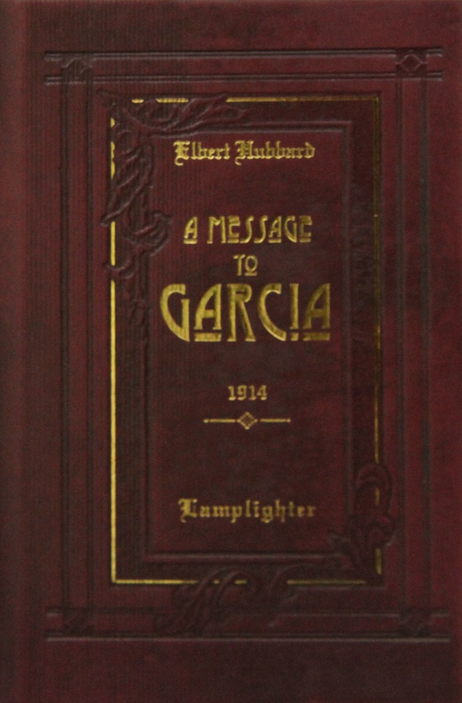 A Message to Garcia book cover image MAIN
