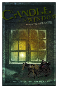 The Candle in the Window Dramatic Audio - Illustrated Downloadable Poster MAIN