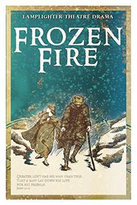 Frozen Fire Dramatic Audio - Illustrated Downloadable Poster MAIN