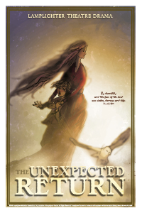 The Unexpected Return Dramatic Audio - Illustrated Downloadable Poster MAIN