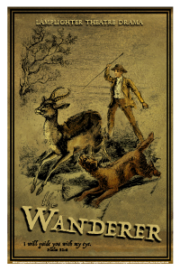 The Wanderer in Africa Dramatic Audio - Illustrated Downloadable Poster MAIN