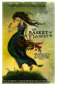 The Basket of Flowers Dramatic Audio - Illustrated Downloadable Poster MAIN