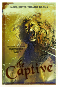 The Captive Dramatic Audio - Illustrated Downloadable Poster MAIN