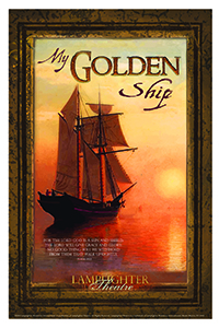 My Golden Ship Dramatic Audio - Illustrated Downloadable Poster MAIN