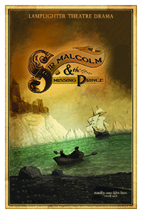 Sir Malcolm and the Missing Prince Dramatic Audio - Illustrated Downloadable Poster MAIN