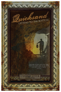 Quicksand Dramatic Audio - Illustrated Downloadable Poster MAIN