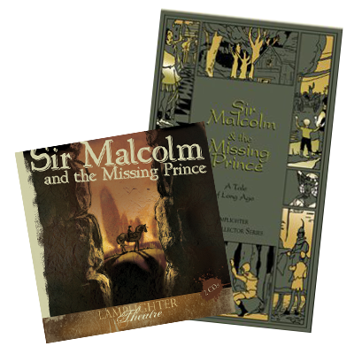 Sir Malcolm and the Missing Prince Package Book and CD MAIN
