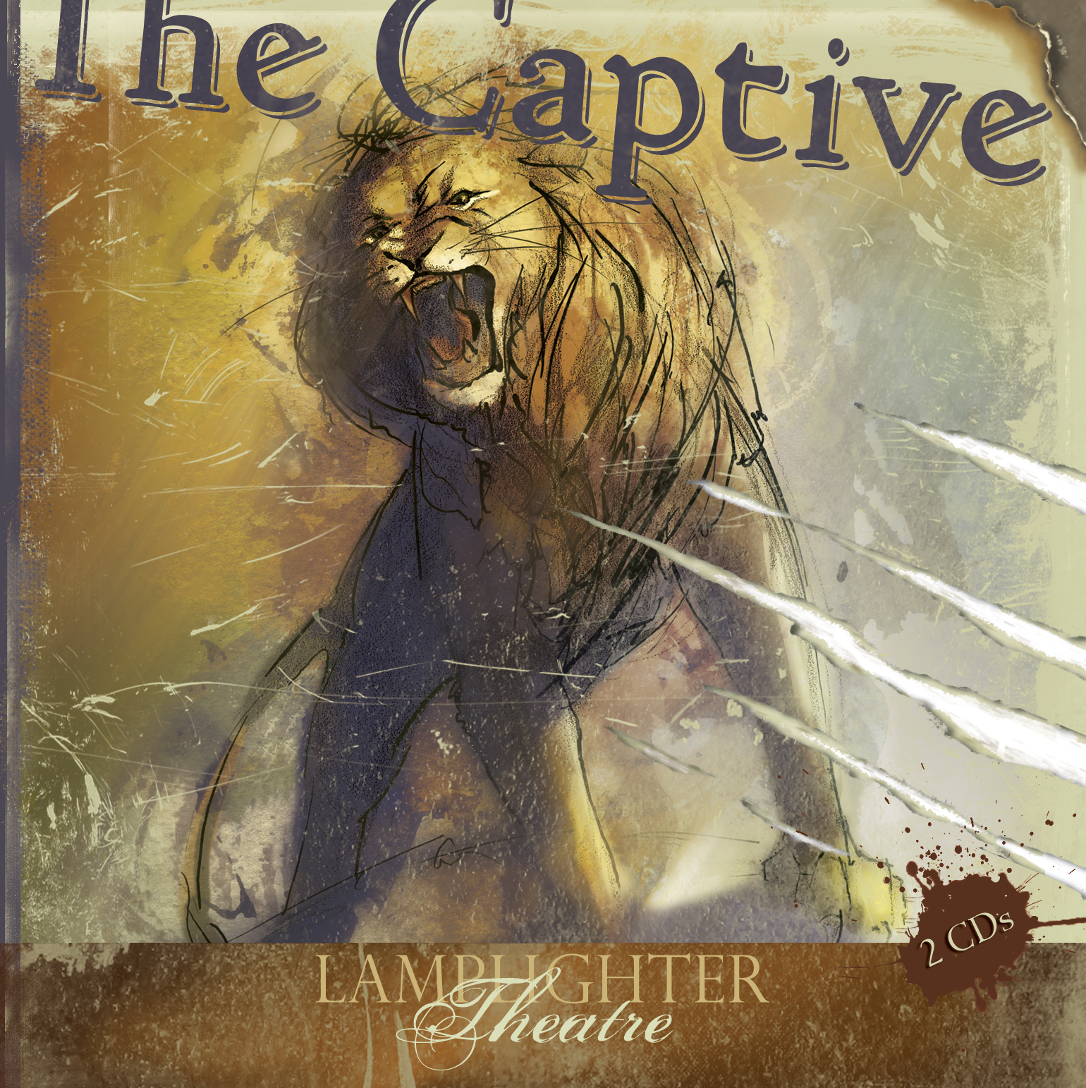 Dramatic Audio CD - Captive THUMBNAIL