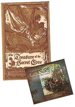 Treasure of the Secret Cove Package Book and CD MAIN